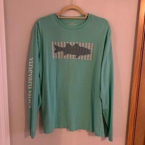 Vineyard Vines Men's Long Sleeve T-Shirt